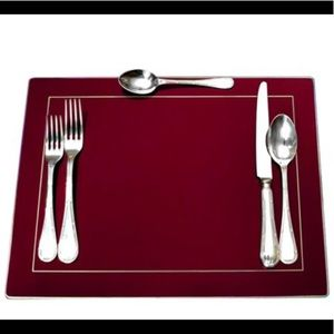 Pimpernel Classic Placemat in Burgundy (Se…
